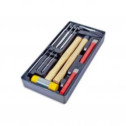 Hammer and chisel kit 11-piece