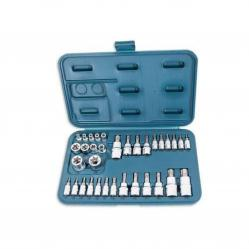 Star Bit Socket Set E-Profile 34-Piece