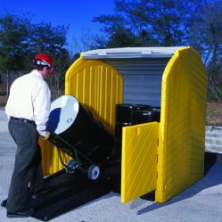Roll Top Hard Cover Spill Pallets
