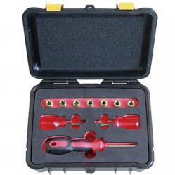 Set of intrinsically safe heads 4-8mm. 1/4