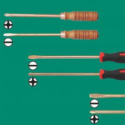Non-sparking Screwdrivers