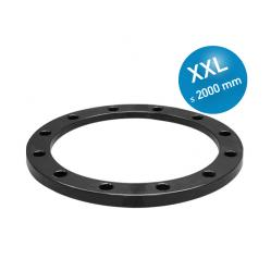 Loose flange plastic coated